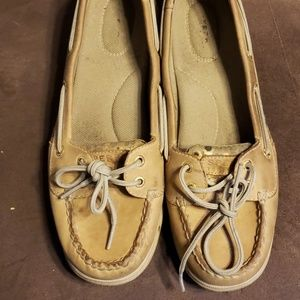 Sperry deck shoes size 8 1/2